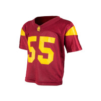best website 2b053 1e122 USC TODDLER #55 FOOTBALL JERSEY BY TEAM TROJAN