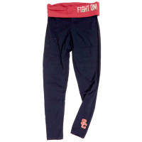 clear-cut texture purchase original price remains stable USC FOLDOVER YOGA LEGGINGS BY TEAM TROAN