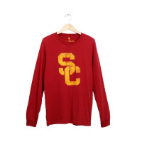 USC SC Interlock Oversized LS Tee