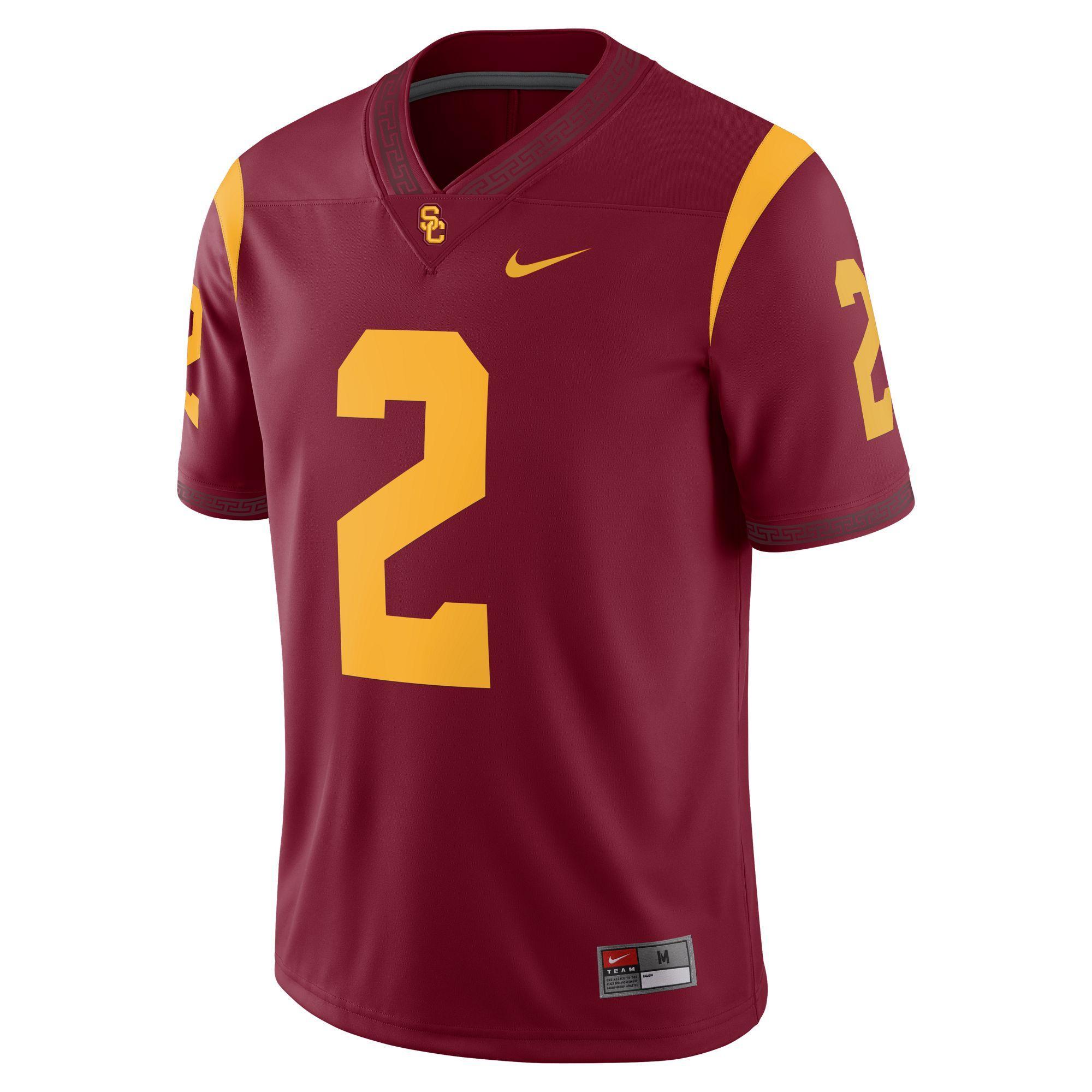 372d05277be Official USC Trojans Men's Jerseys, USC Football Jersey & USC ...