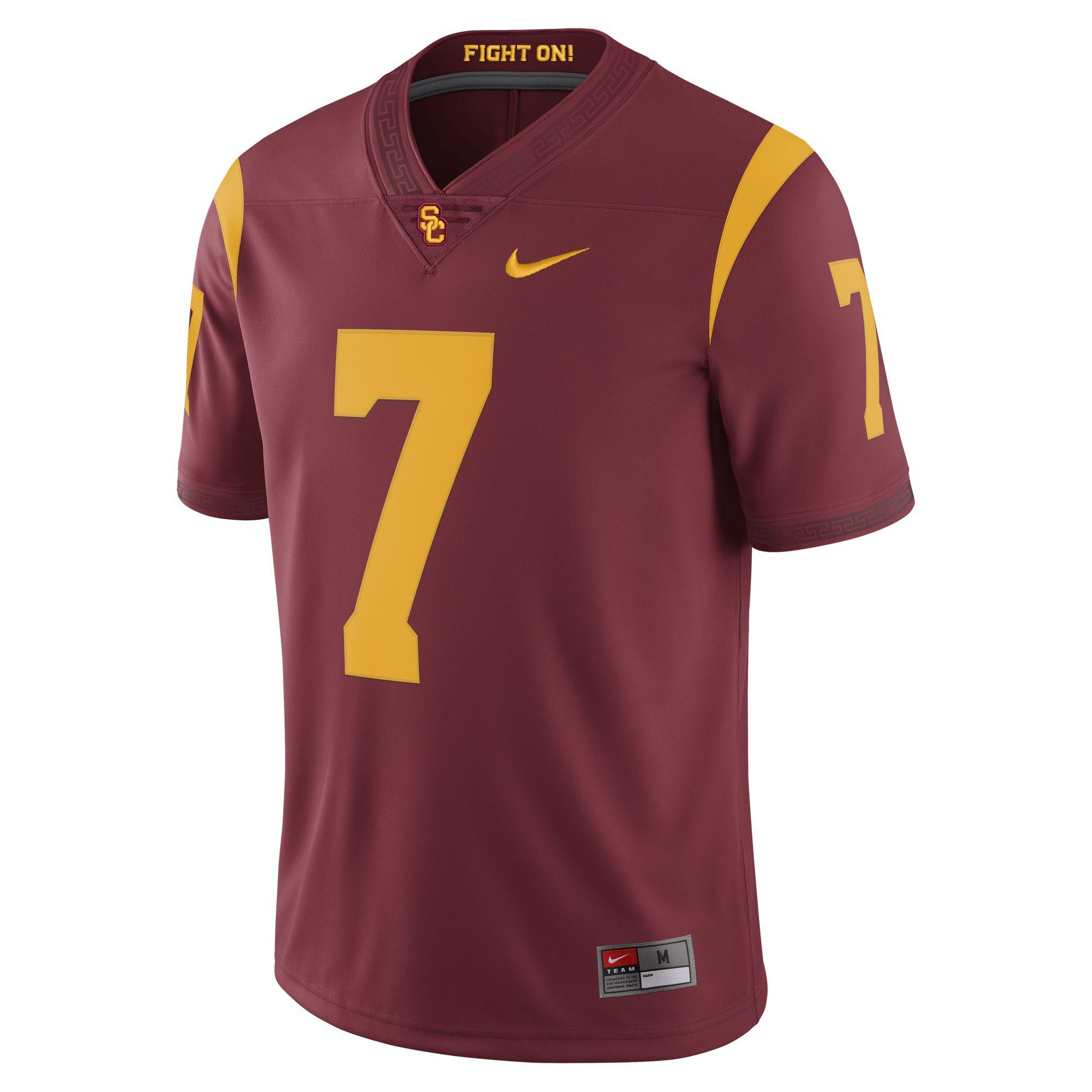 separation shoes 262e3 2ad90 USC #7 College Football Jersey (Limited Edition)