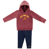 5ae0a1835 USC Tommy Head Infant Girls Hood/Pant Set. $38.00. USC Infant Boys Football  Onesie Romper