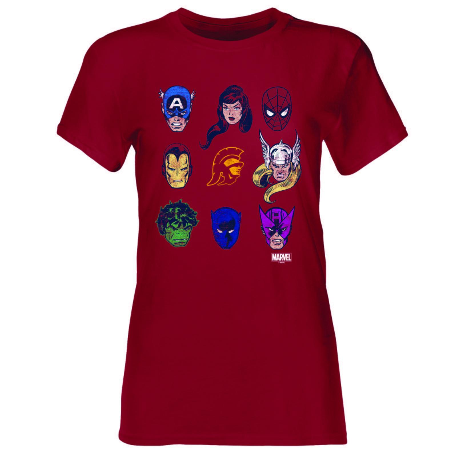 1c229a59687 USC Trojans X Marvel Women Tommy Head Super Star Cast T-shirt