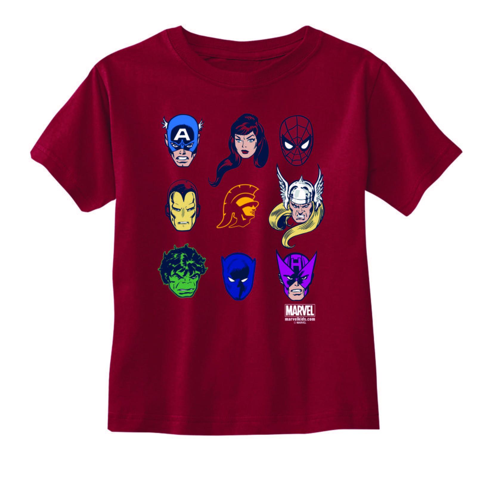 dfbef6c7a0c USC Trojans X Marvel Toddler Tommy Head Super Star Cast T-shirt