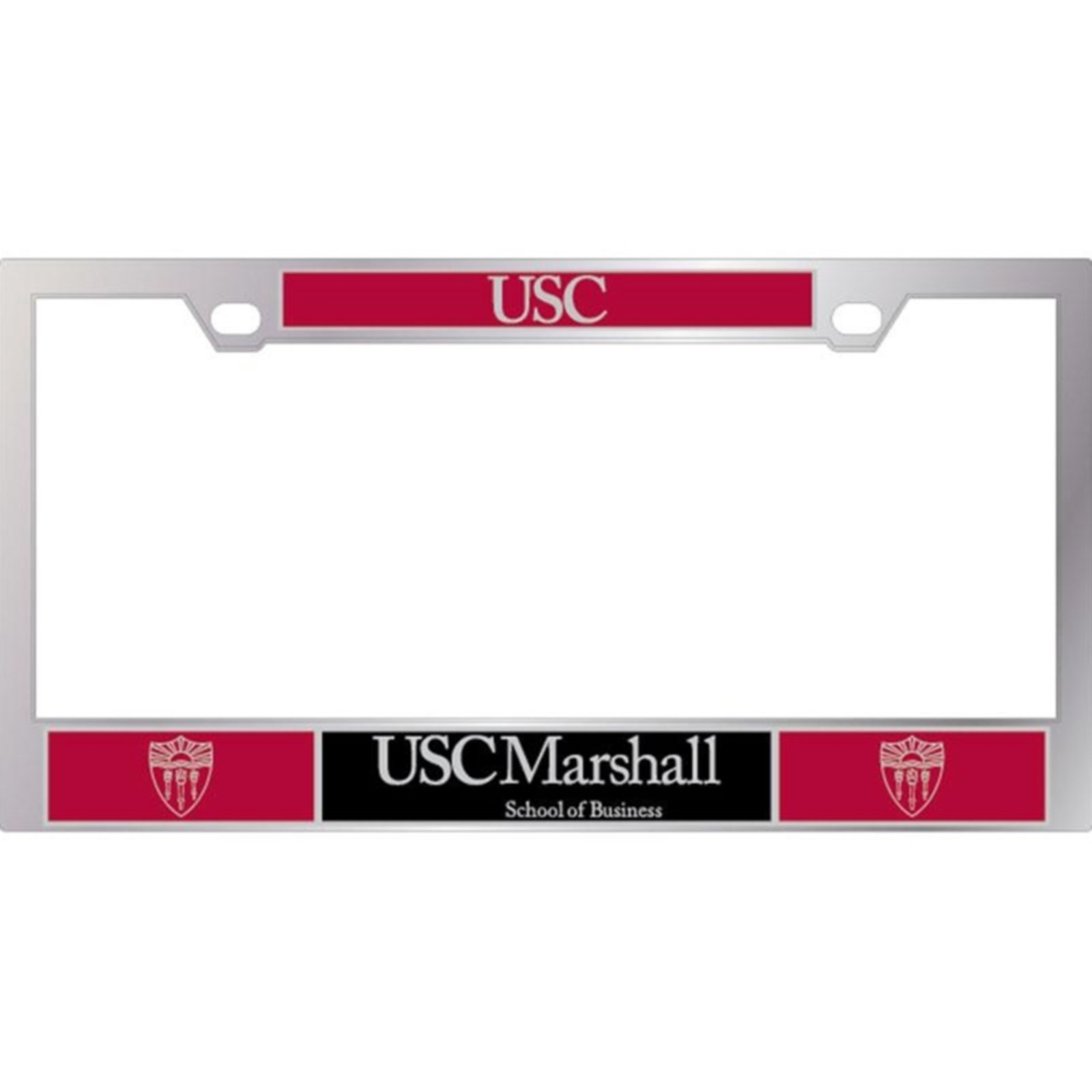 USC MARSHALL LICENSE PLATE FRAME