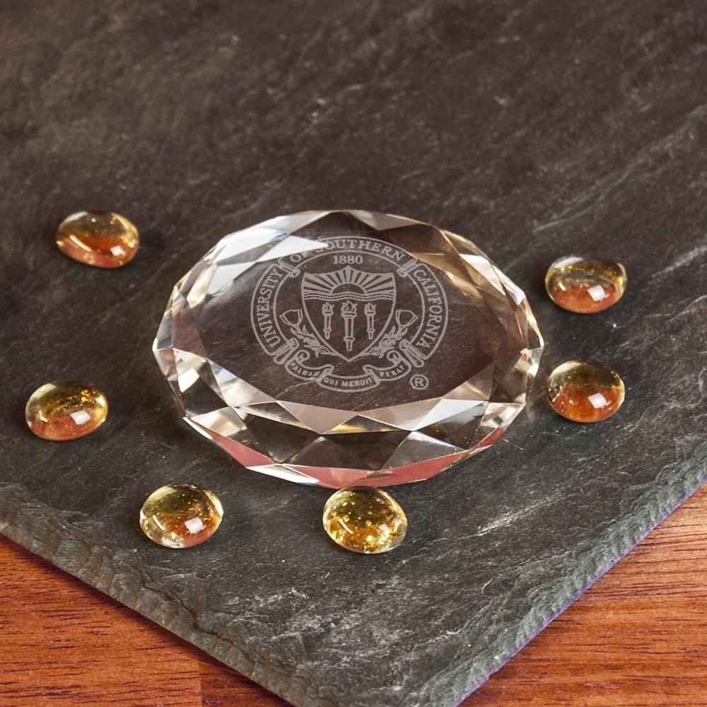 USC Seal Paperweight