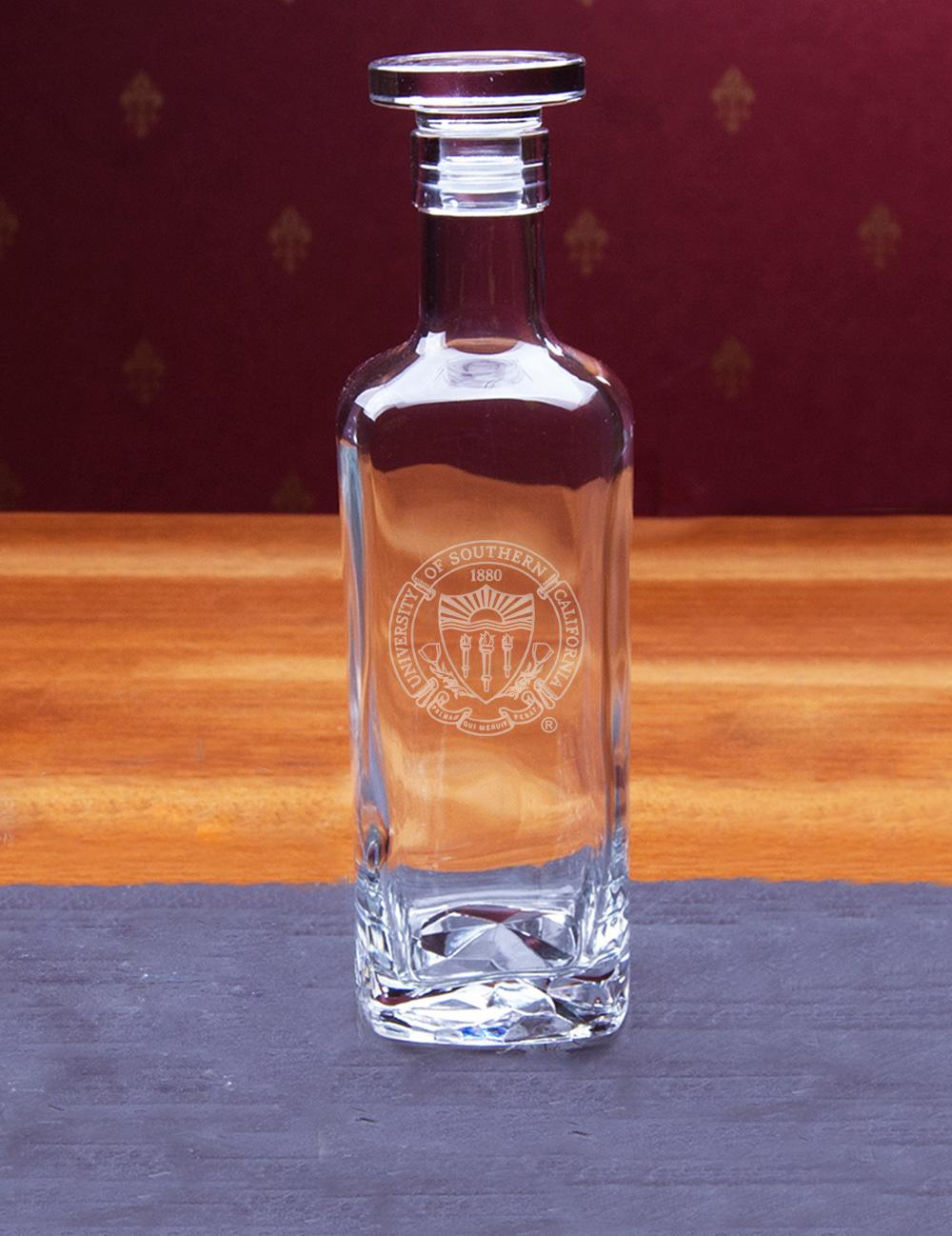 USC Seal 23oz Spirits Decanter