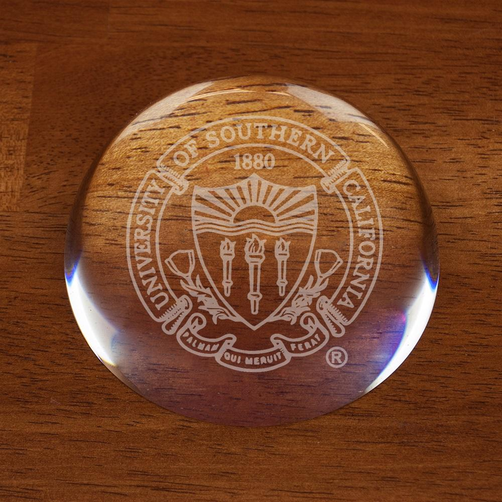 USC Optic Dome Paperweight