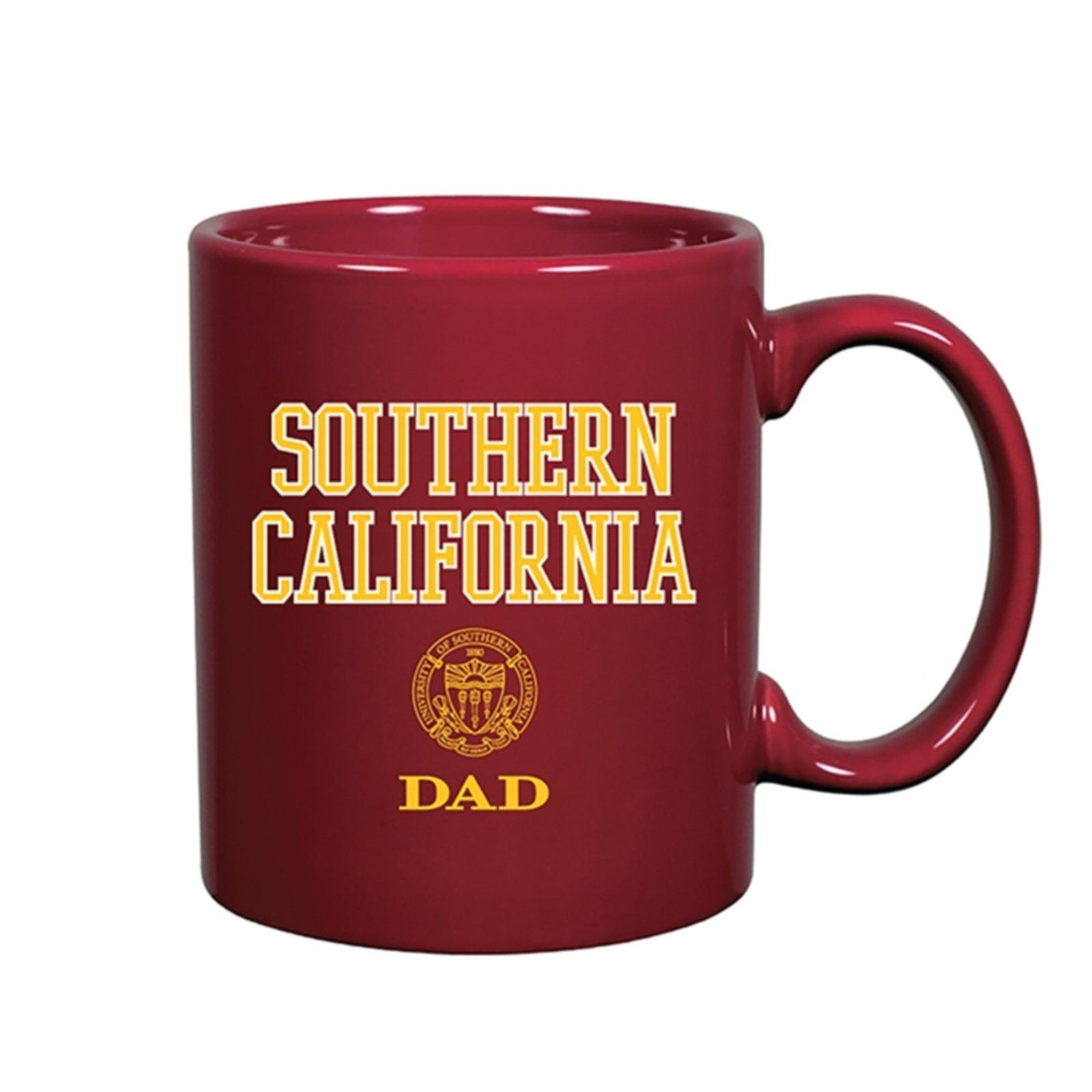 USC Shield Southern California Dad Mug
