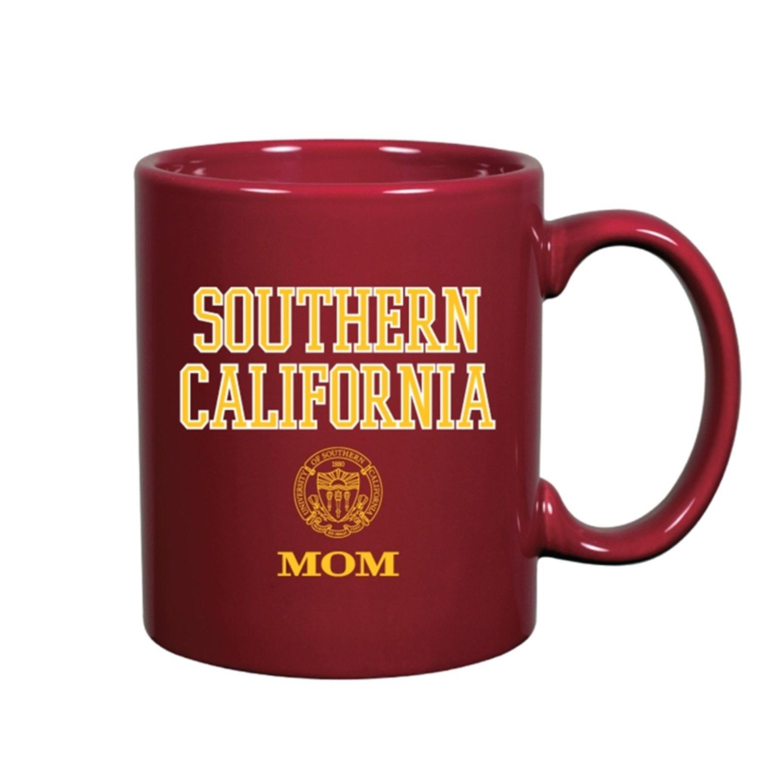 USC Shield Southern California Mom Mug