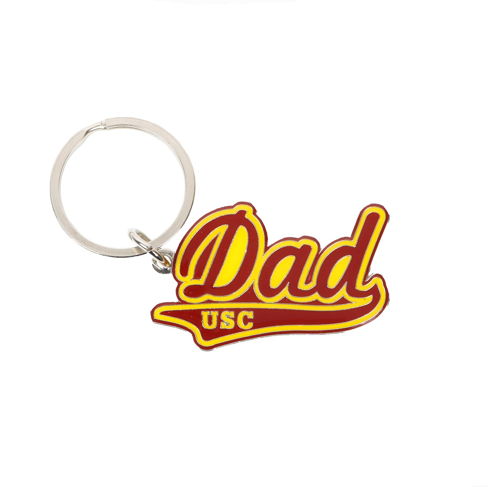 USC Dad Brass Key Chain