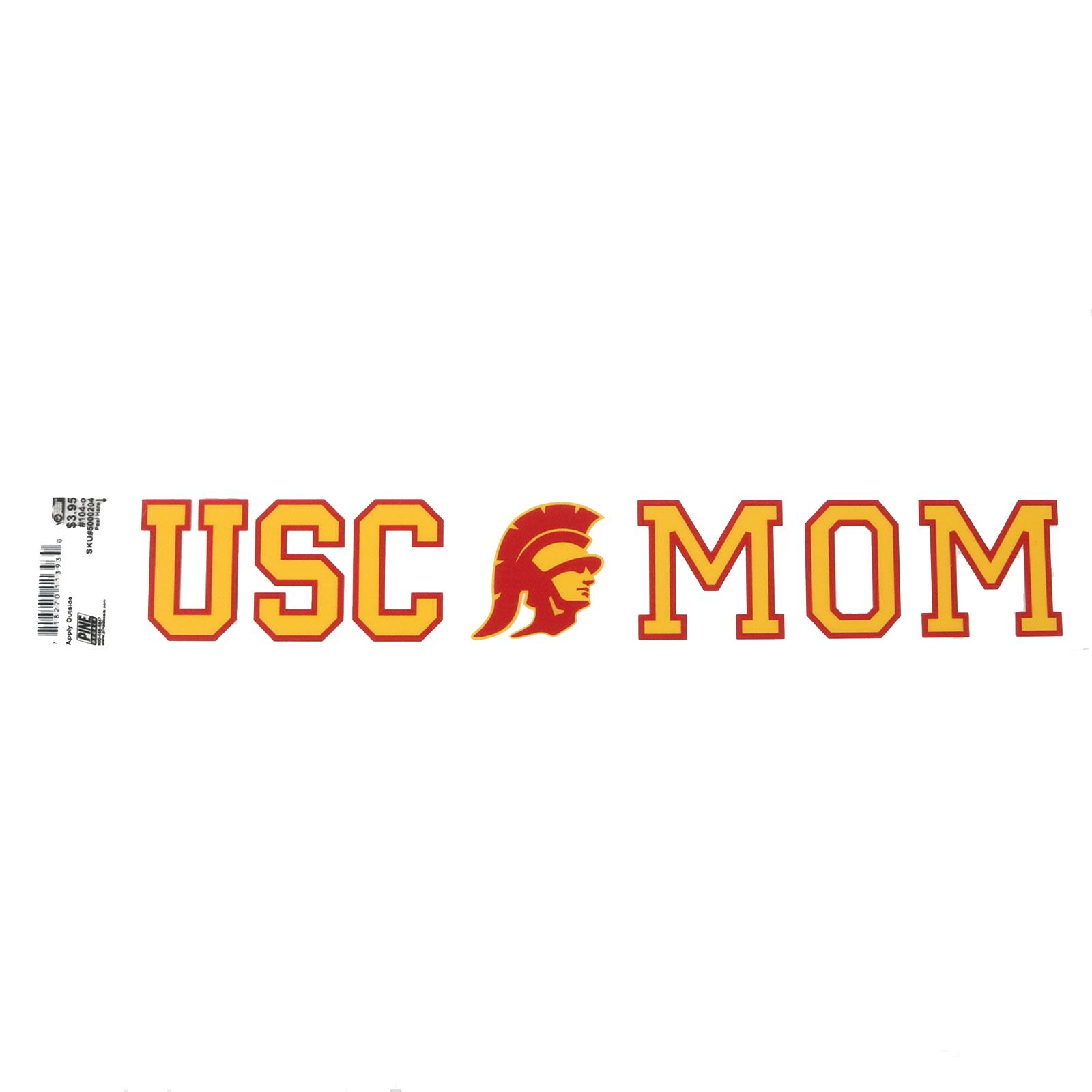 USC Tommy Head Mom Decal