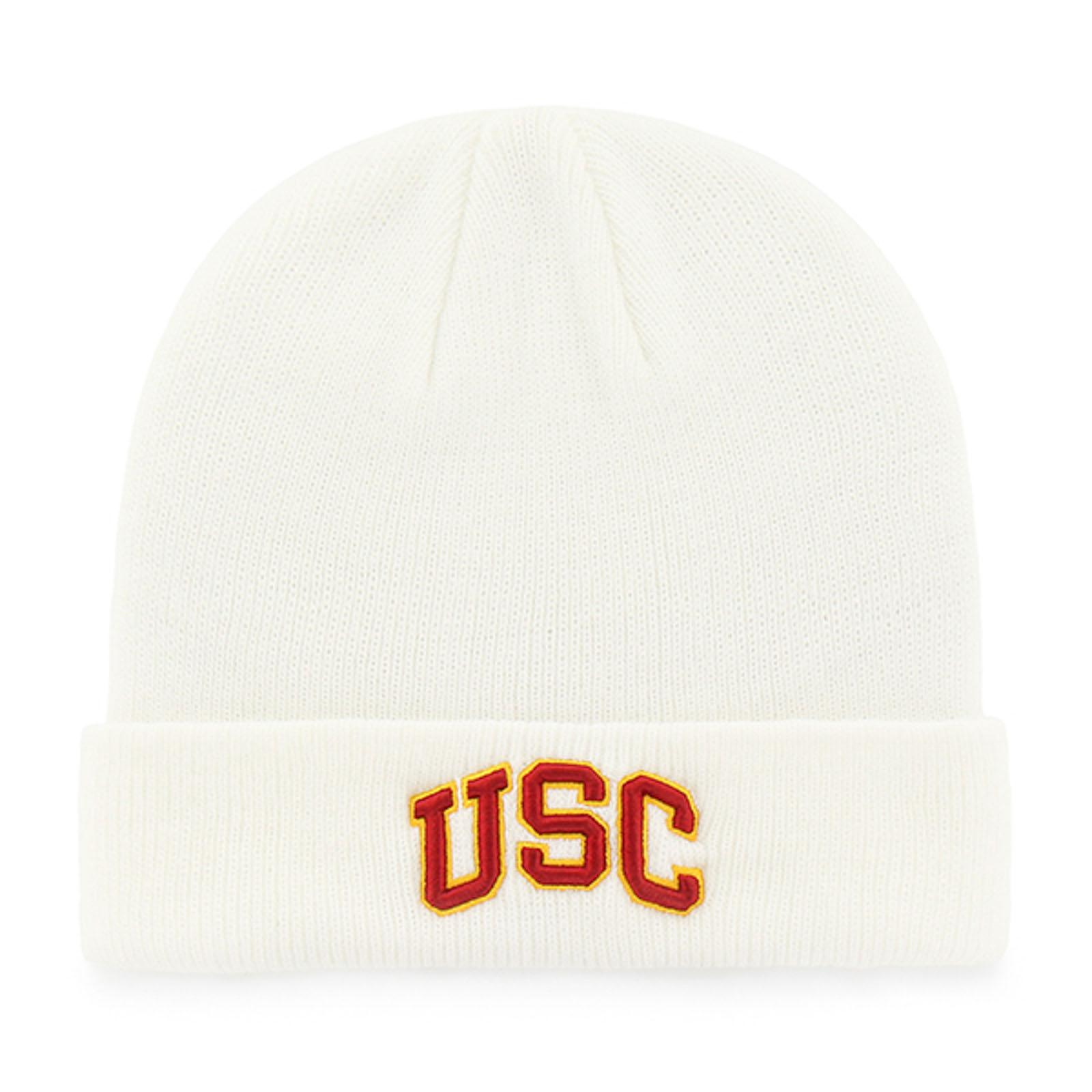 USC Arch Raised Cuff Knit Beanie