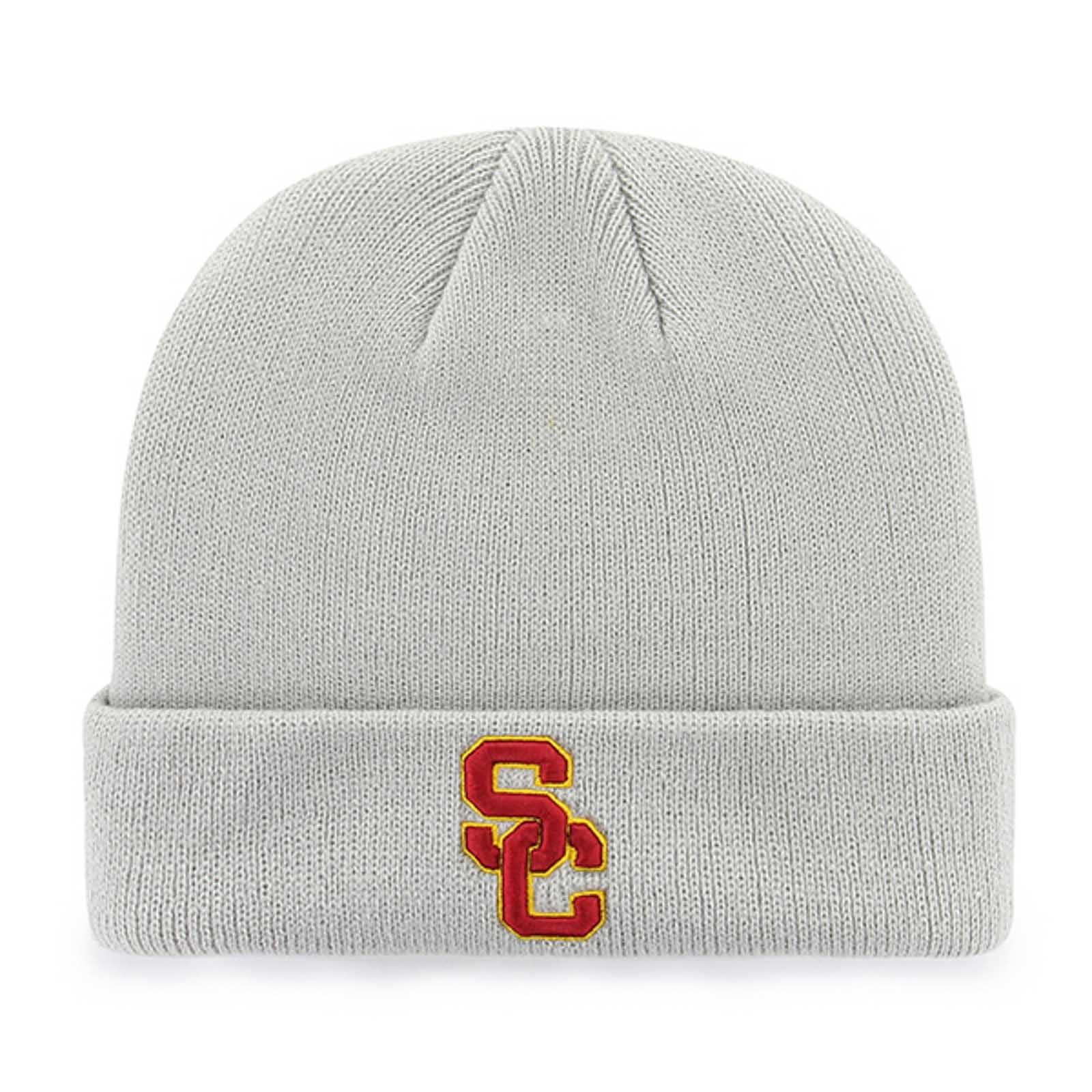 USC SC Interlock Raised Cuff Knit Beanie