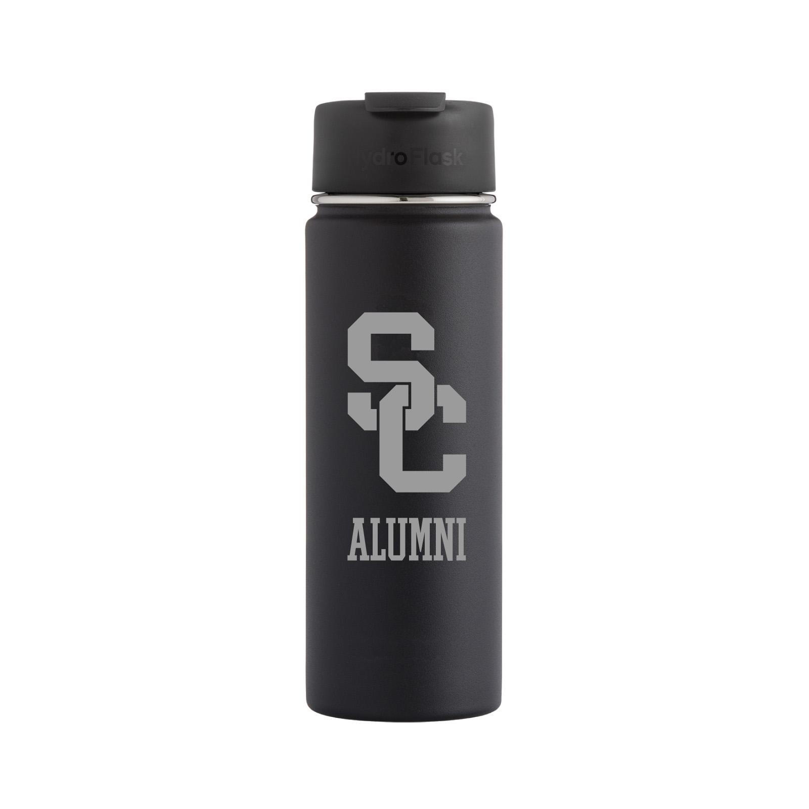 USC SC Interlock Engraved Alumni Hydro Flask 20oz Tumbler