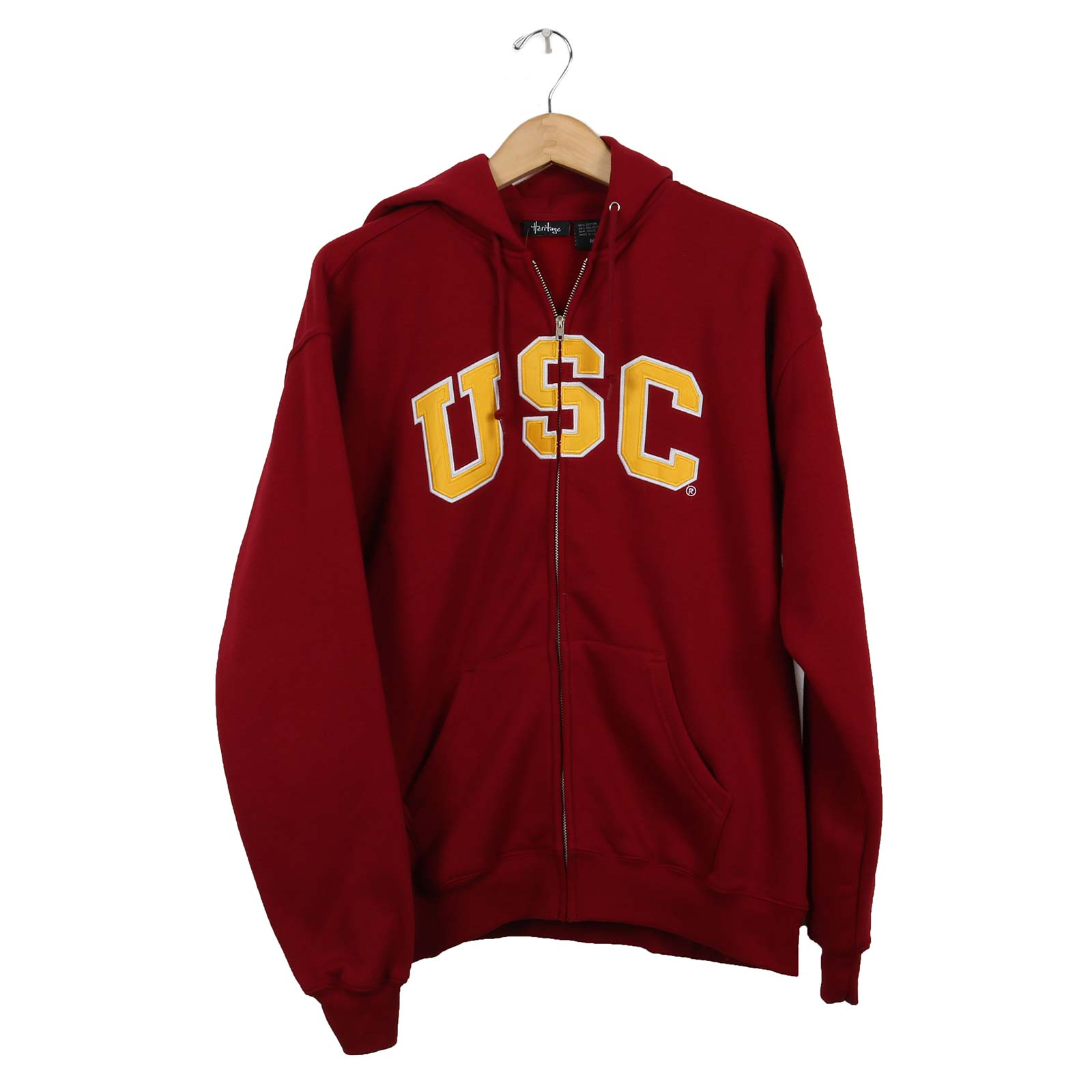 USC Trojan Basics Full-Zip Fleece Hoodie