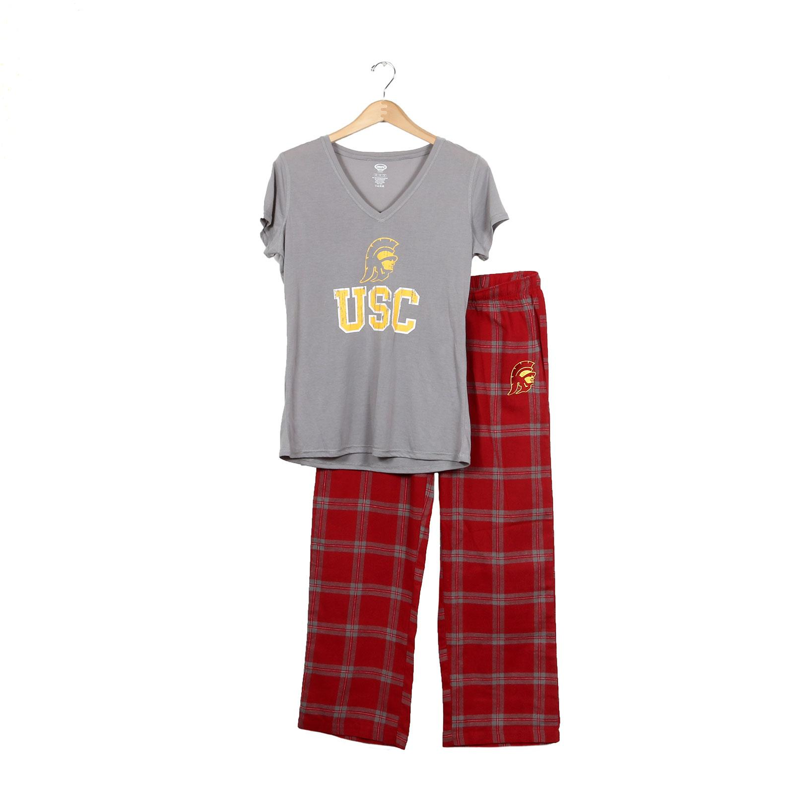 USC Trojans Women's Cardinal Tommy Head Troupe Sleep Set