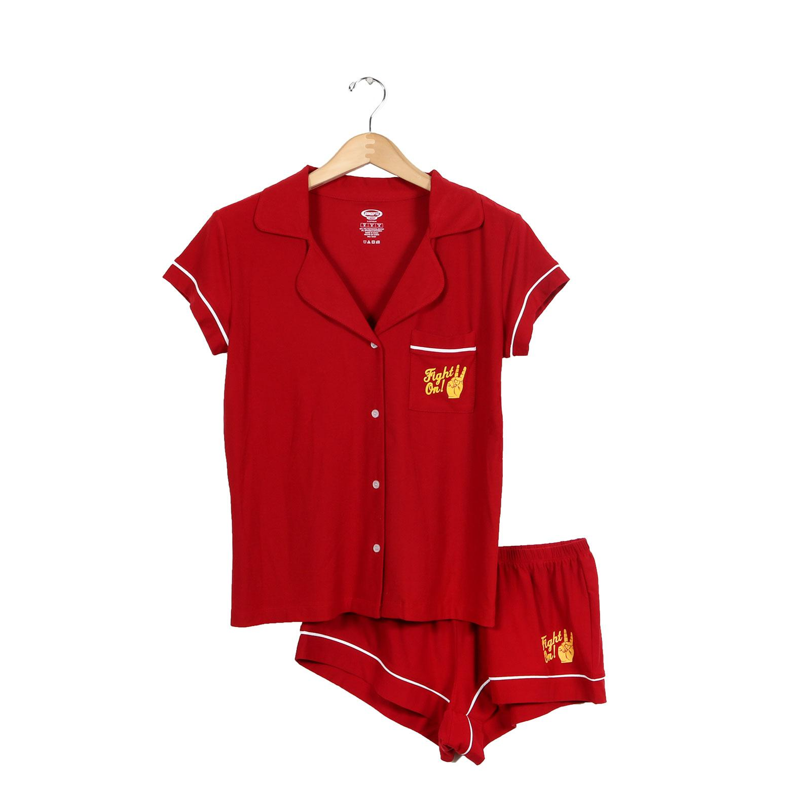 USC Trojans Women's Cardinal Fight On Fairway Sleep Set
