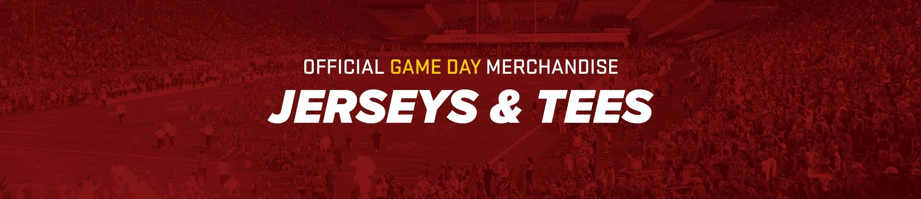USC Official Game Day Jerseys & Tees
