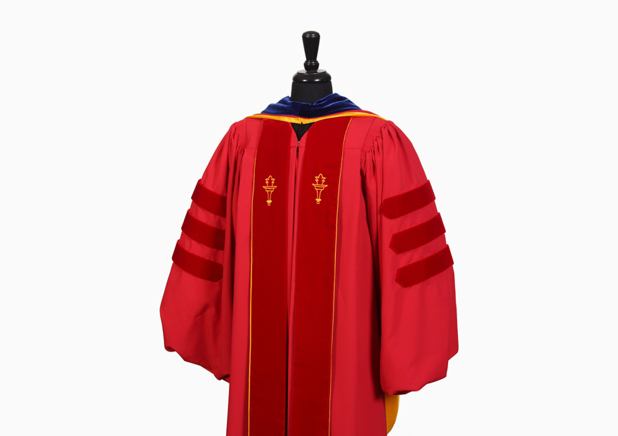 Cap and Gown – USC Rossier Commencement